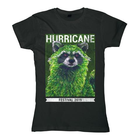 √Early Racoon von Hurricane Festival - Girlie Shirt jetzt im Bravado Shop
