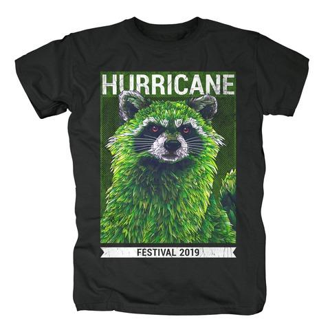 √Early Racoon von Hurricane Festival - T-Shirt jetzt im Bravado Shop