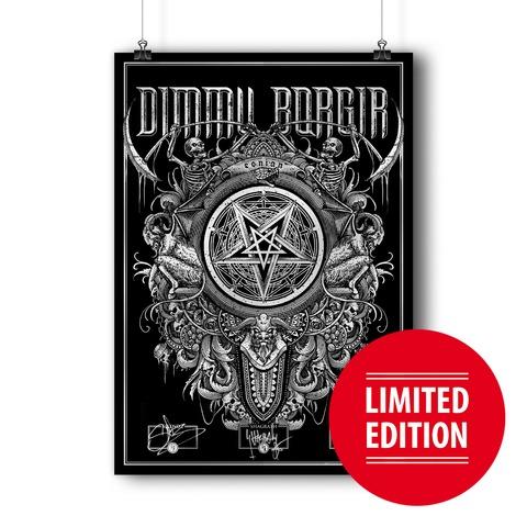 √Eonian Pentagram von Dimmu Borgir - Screen Print Poster jetzt im Bravado Shop