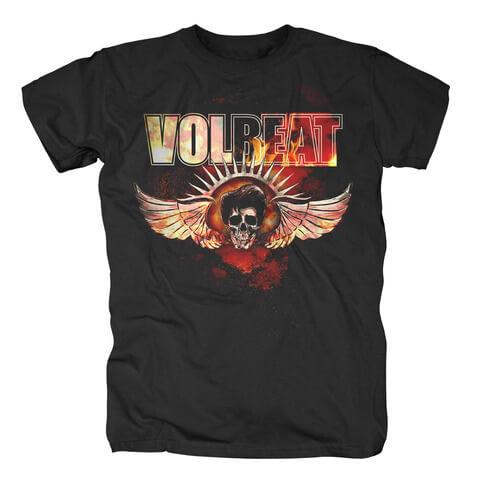 √Burning Skullwing von Volbeat - T-Shirt jetzt im Bravado Shop