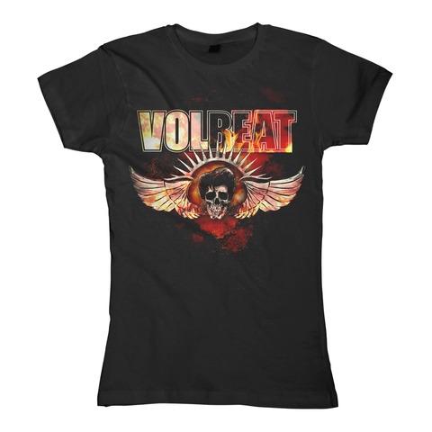 √Burning Skullwing von Volbeat - Girlie Shirt jetzt im Bravado Shop
