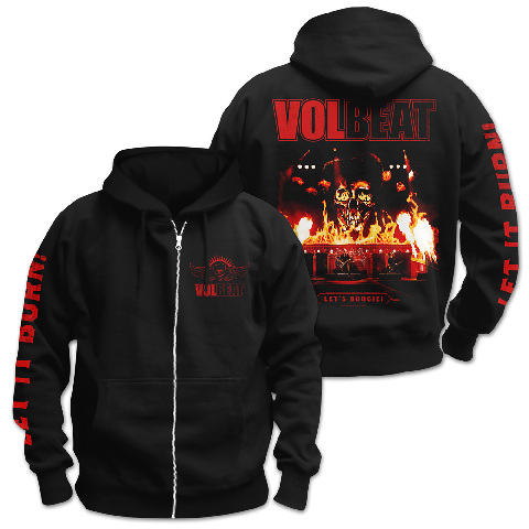 √Let It Burn von Volbeat - Hooded jacket jetzt im Bravado Shop