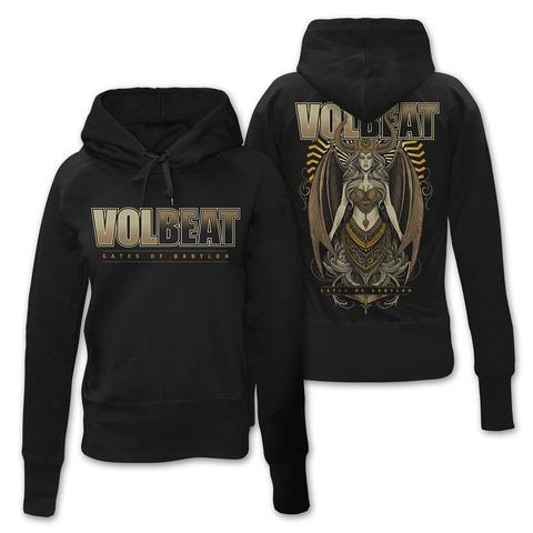 √Babylon Goddess von Volbeat - Girlie hooded sweater jetzt im Bravado Shop