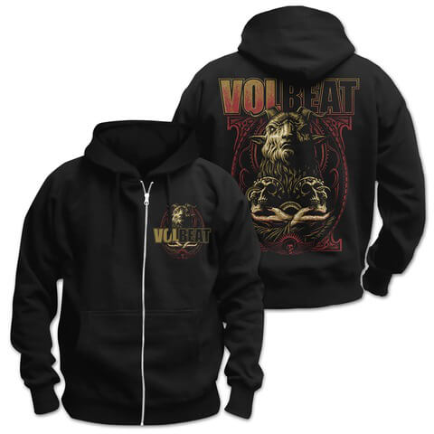 √Voodoo Goat von Volbeat - Hooded jacket jetzt im Bravado Shop