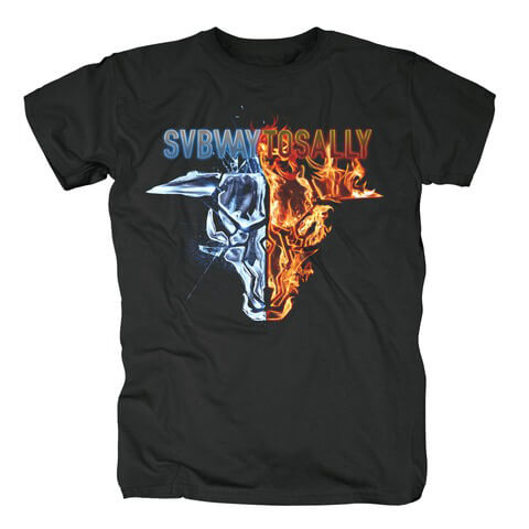 √Fire and Ice von Subway To Sally - T-Shirt jetzt im Bravado Shop