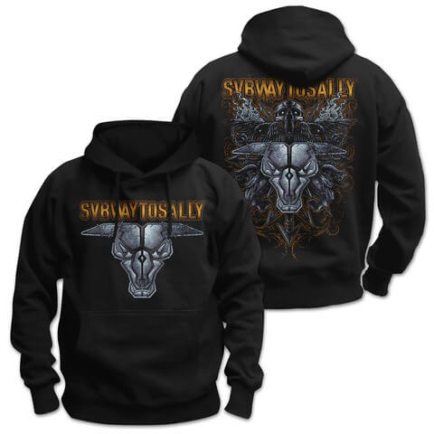 √Stoned Bull von Subway To Sally - Hood sweater jetzt im Bravado Shop