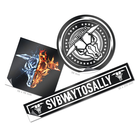 Subway To Sally von Subway To Sally - 3er Sticker Set jetzt im Bravado Shop