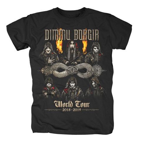 √World Tour 2018-2019 von Dimmu Borgir - T-Shirt jetzt im Bravado Shop