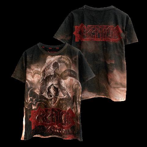 √Gods Of Violence von Kreator - T-Shirt Allover jetzt im Bravado Shop