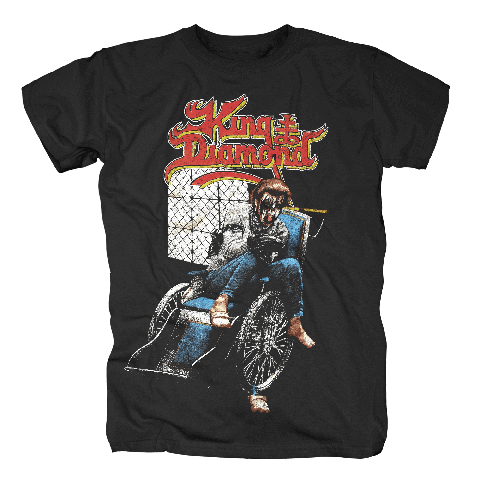 √Wheelchair von King Diamond - T-Shirt jetzt im Bravado Shop