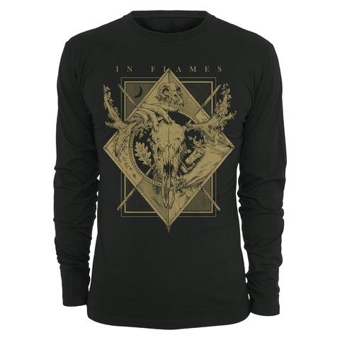 √Night Square von In Flames - Long-sleeve jetzt im Bravado Shop