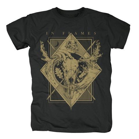 √Night Square von In Flames - T-Shirt jetzt im Bravado Shop