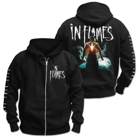 √Take This Life von In Flames - Hooded jacket jetzt im Bravado Shop
