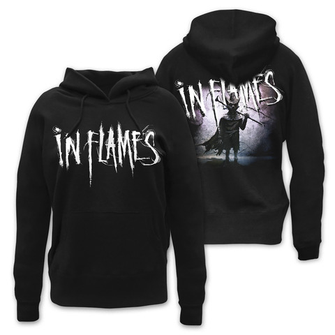 √The Mask von In Flames - Girlie hooded sweater jetzt im Bravado Shop