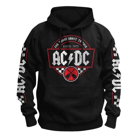 Rock Race von AC/DC - Kapuzenpullover jetzt im Bravado Shop