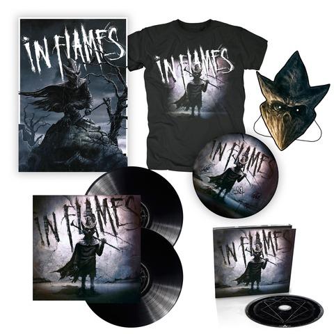√I am the Mask - Bundle von In Flames - Vinyl+CD,Poster,Shirt,Maske,Drumfell jetzt im Bravado Shop