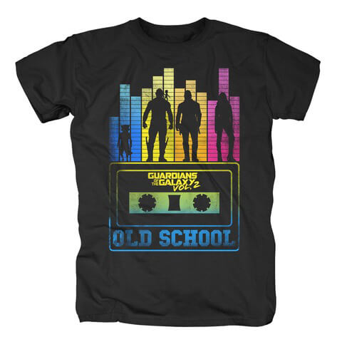 √Old School von Guardians of the Galaxy - T-Shirt jetzt im Bravado Shop