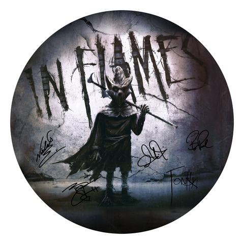 √The Mask Signature von In Flames - Drumhead jetzt im Bravado Shop