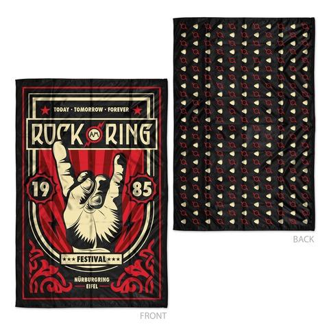 √Rock Hand Turnaround Flag von Rock am Ring Festival - Wendeflagge jetzt im Bravado Shop
