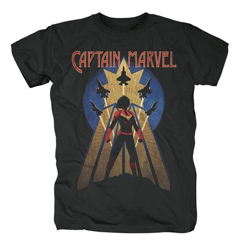 √Air Force von Captain Marvel - T-Shirt jetzt im Bravado Shop