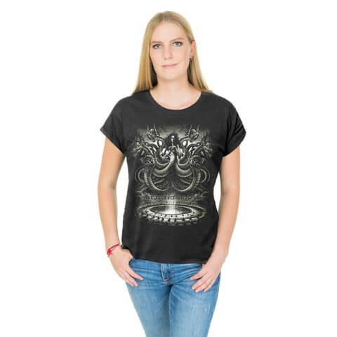 √Scylla von Saltatio Mortis - Loose Fit Girlie Shirt jetzt im Bravado Shop