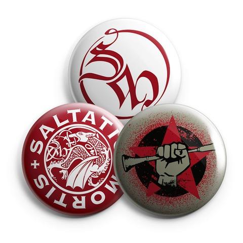 √BGR Star von Saltatio Mortis - 3-piece button set jetzt im Bravado Shop