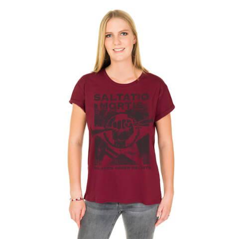 √BGR von Saltatio Mortis - Loose Fit Girlie Shirt jetzt im Bravado Shop
