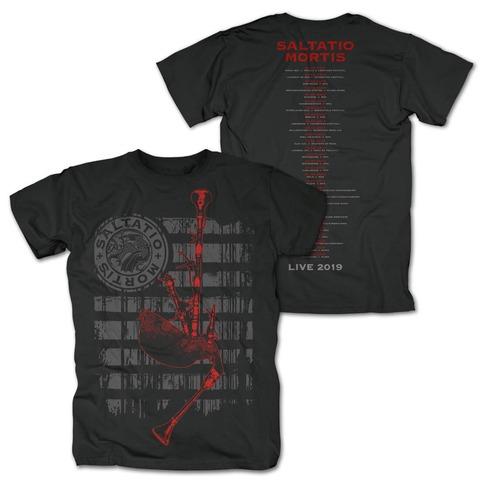 √Festivalmotiv 2019 von Saltatio Mortis - T-Shirt jetzt im Bravado Shop