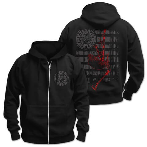√Pipe Stripes von Saltatio Mortis - Hooded jacket jetzt im Bravado Shop