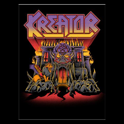 √Castle von Kreator - Print jetzt im Bravado Shop