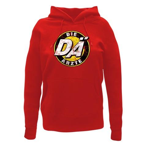 √Retro Logo von die ärzte - Girlie hooded sweater jetzt im Bravado Shop