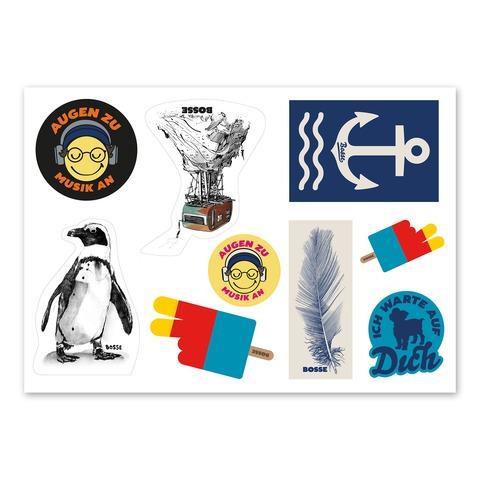 √Alles Ist Jetzt von Bosse - Stickerset 9-er jetzt im Bravado Shop