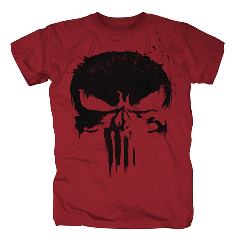 Sprayed Skull Logo (black) von The Punisher - T-Shirt jetzt im Bravado Shop