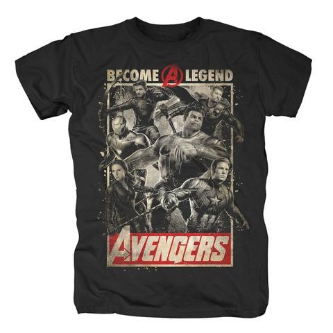 √Become A Legend von Avengers - T-Shirt jetzt im Bravado Shop