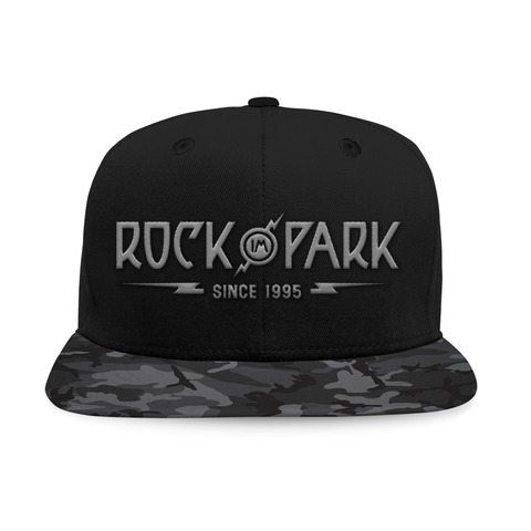 √Black Camo Logo von Rock im Park Festival - Cap jetzt im Bravado Shop