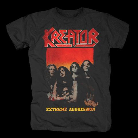 √Extreme Aggression von Kreator - T-Shirt jetzt im Bravado Shop