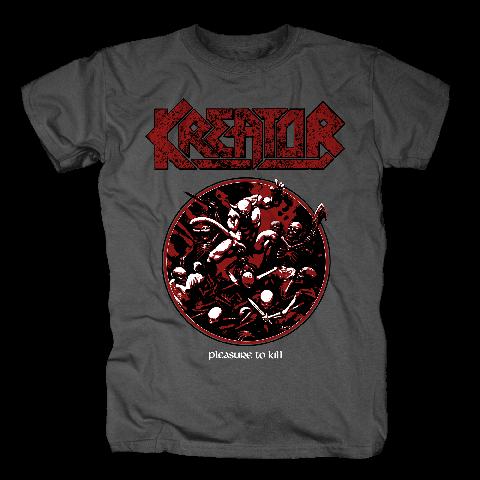 √Pleasure To Kill Circle von Kreator - T-Shirt jetzt im Bravado Shop