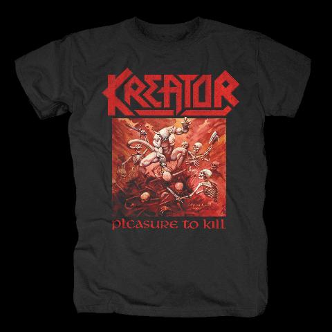 √Pleasure To Kill von Kreator - T-Shirt jetzt im Bravado Shop