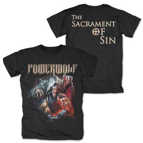 √The Sacrament Of Sin von Powerwolf - T-Shirt jetzt im Bravado Shop