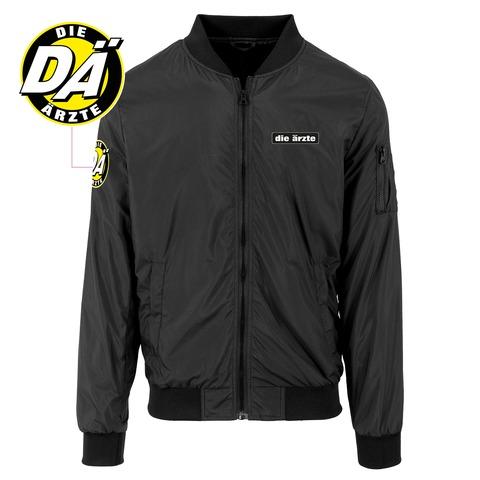 die ärzte Logo - Jacke (mit Aufnähern) von die ärzte - Light Bomber Jacket jetzt im Bravado Shop