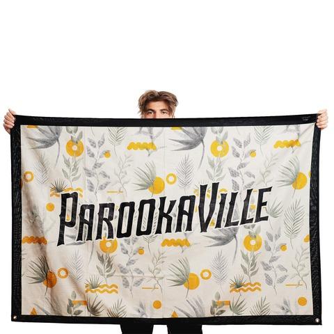 √Sun & Flower von Parookaville Festival - Wendeflagge jetzt im Bravado Shop