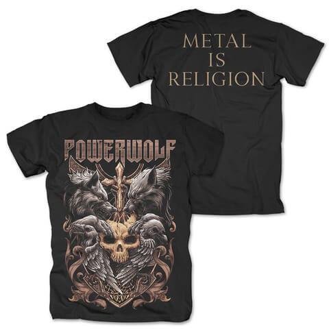 √Wolves & Ravens von Powerwolf - T-Shirt jetzt im Bravado Shop