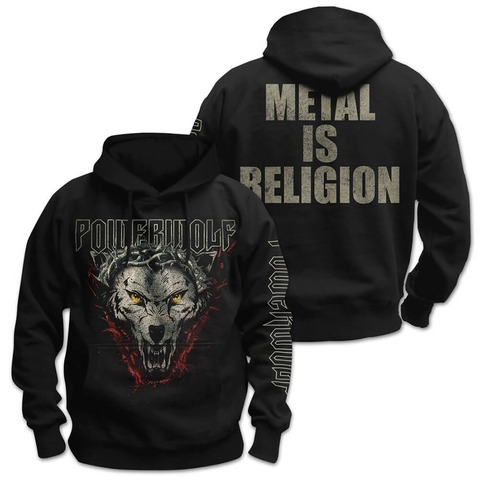 √Metal Is Religion von Powerwolf - Hood sweater jetzt im Bravado Shop