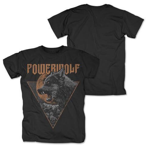 √Fullmoon von Powerwolf - T-Shirt jetzt im Bravado Shop