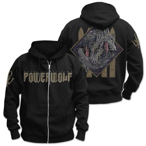 √Wolf Sign von Powerwolf - Hooded jacket jetzt im Bravado Shop