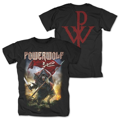 √Wolf Warrior von Powerwolf - T-Shirt jetzt im Bravado Shop