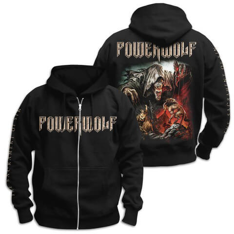 √The Sacrament Of Sin von Powerwolf - Hooded jacket jetzt im Bravado Shop