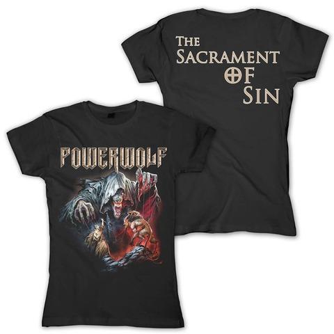 The Sacrament Of Sin von Powerwolf - Girlie Shirt jetzt im Bravado Shop