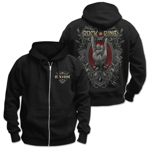√Rock Crest von Rock am Ring Festival - Hooded jacket jetzt im Bravado Shop