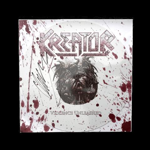 √Violence Unleashed (Hand Signed) von Kreator - Vinyl jetzt im Bravado Shop